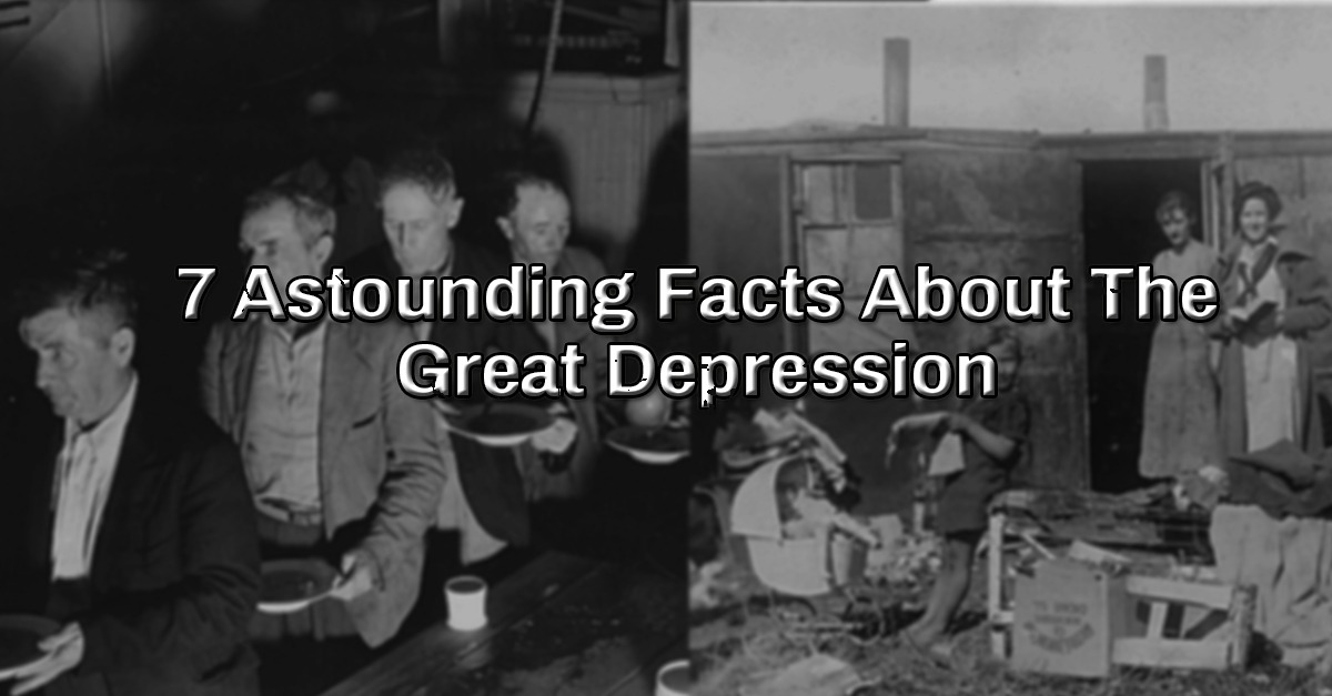 10 facts on the great depression