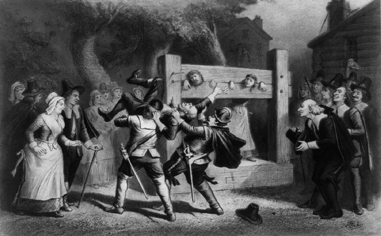 Mass hysteria in history that resulted in witch hunting