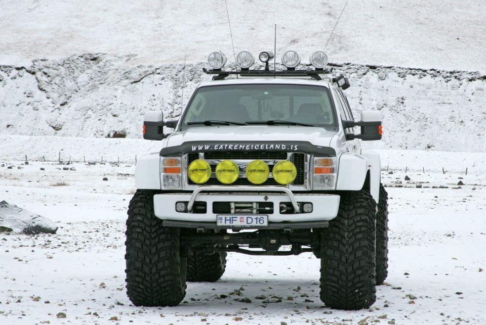 Iceland super jeeps and monster trucks
