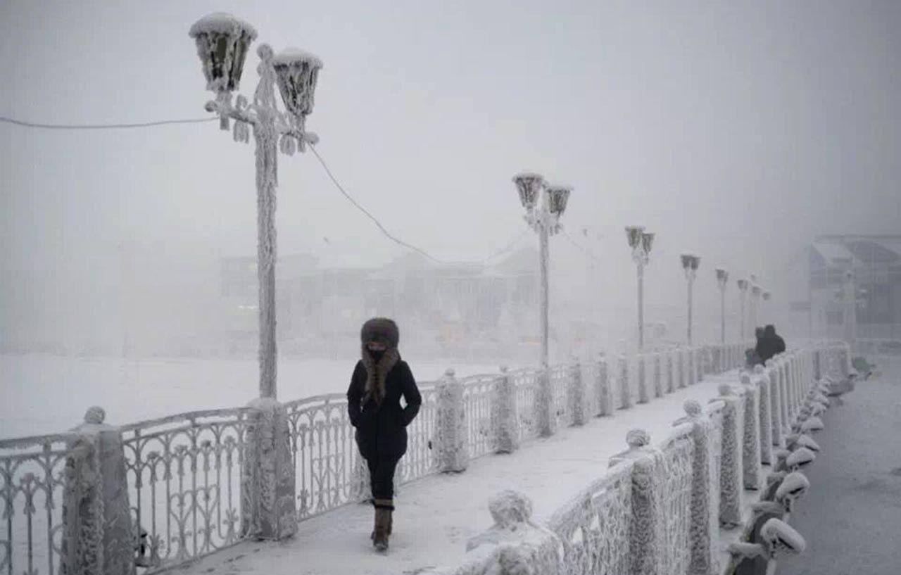 Coldest place on Earth 1: Yakutsk, Russia