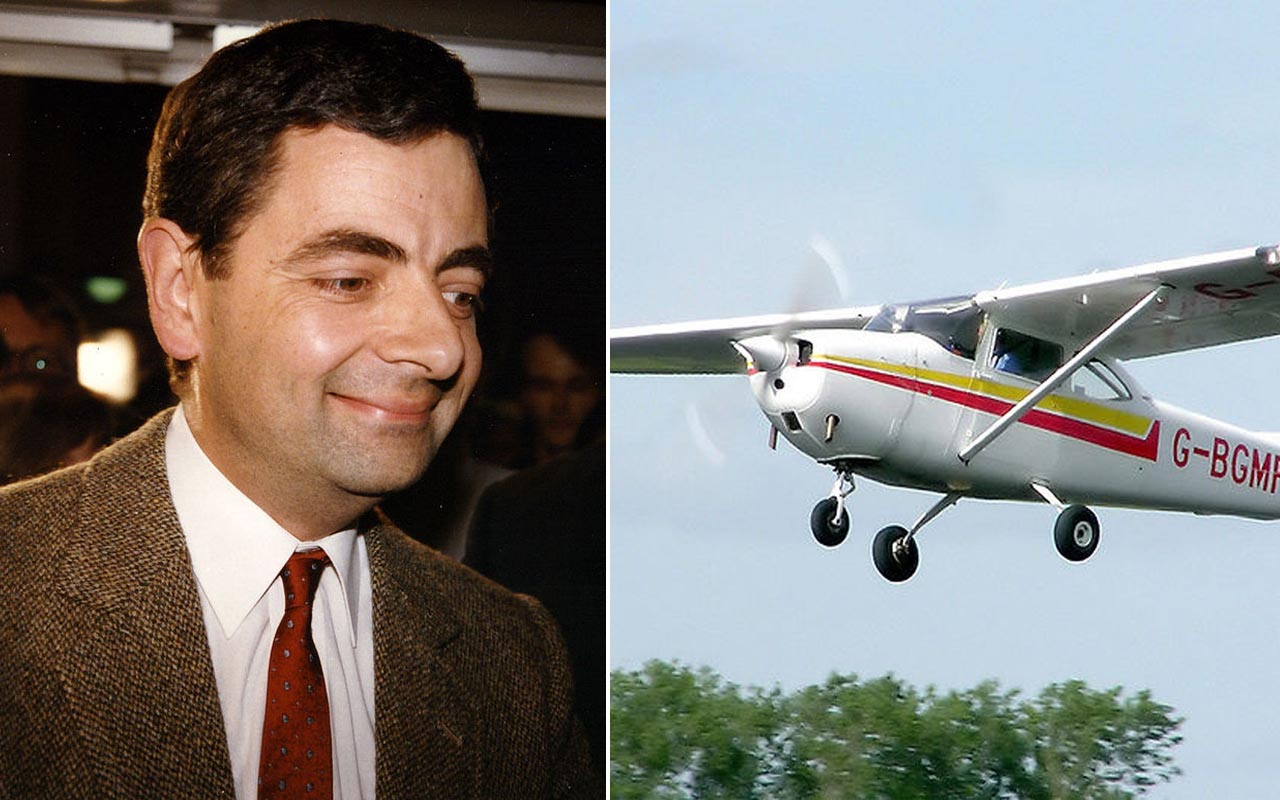 Rowan Atkinson saved his family