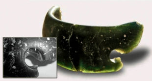 bracelet, green bracelet, archeology, siberia, cave