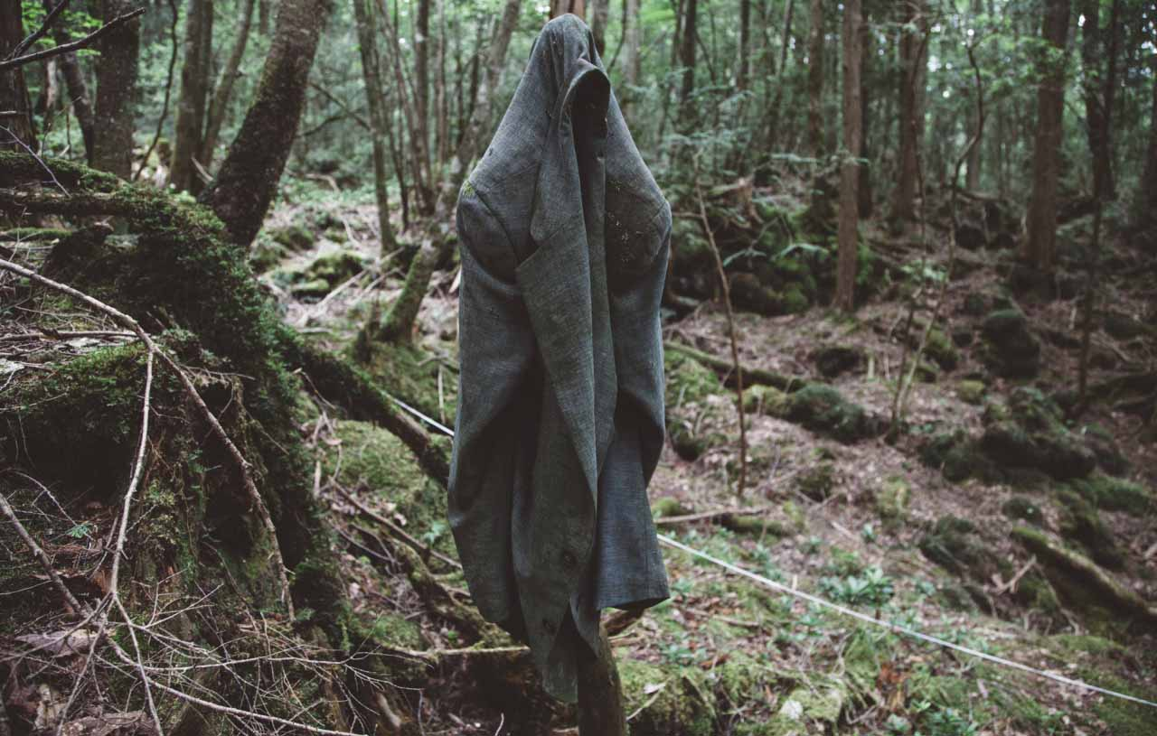 Aokigahara Suicide forest.