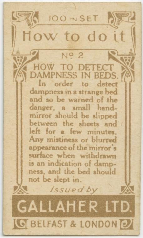 Detecting dampness in bed