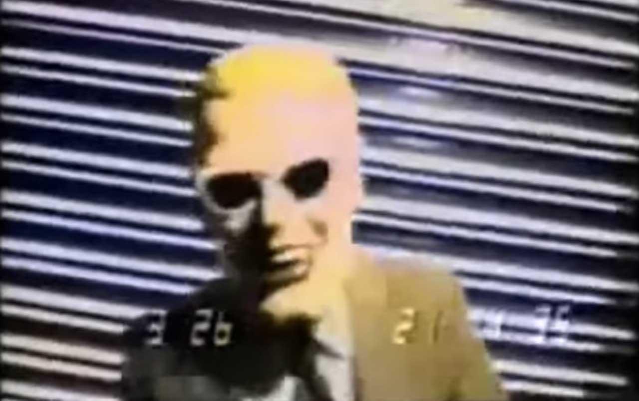 Max Headroom: Creepiest TV hack in history
