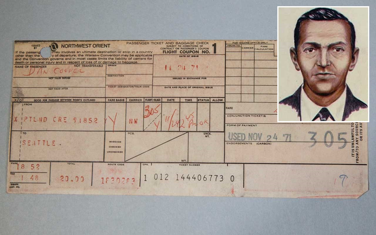 D.B. Cooper vanished from Portland