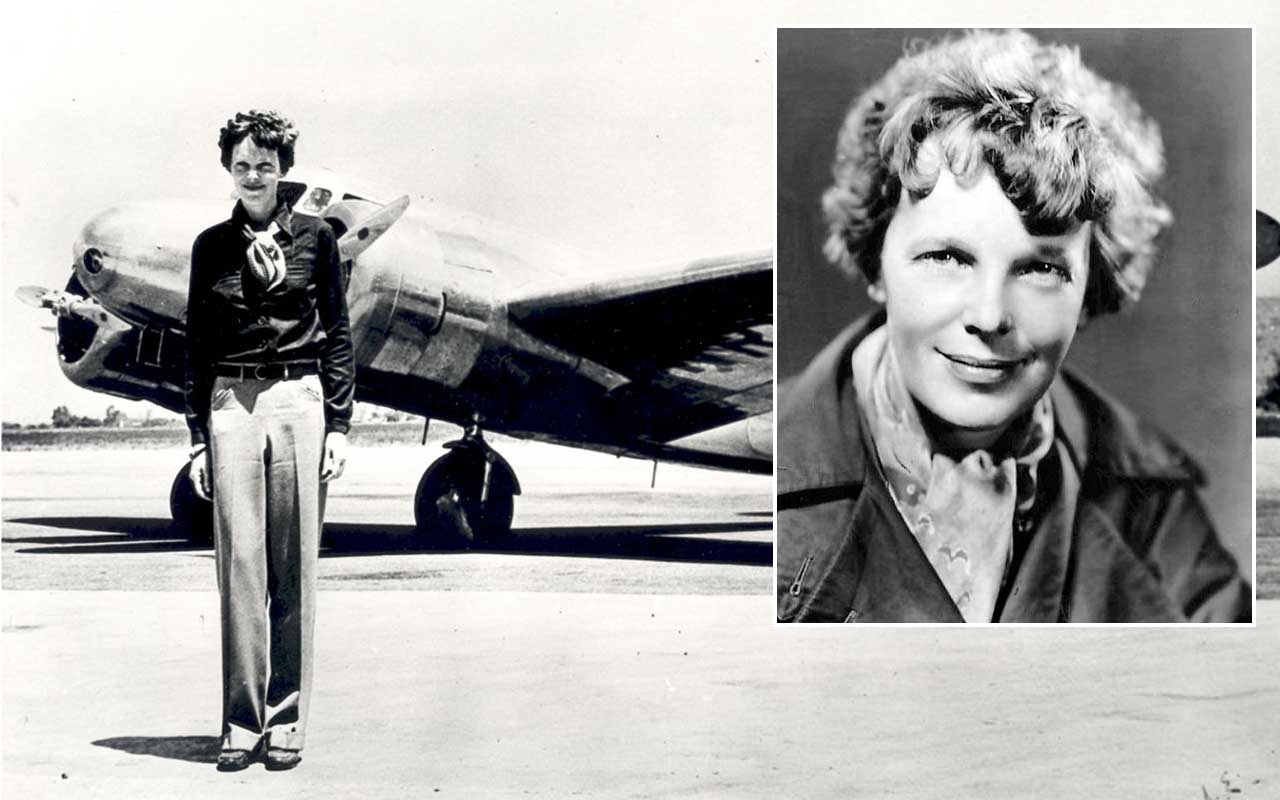 Amelia Earhart vanished while flying