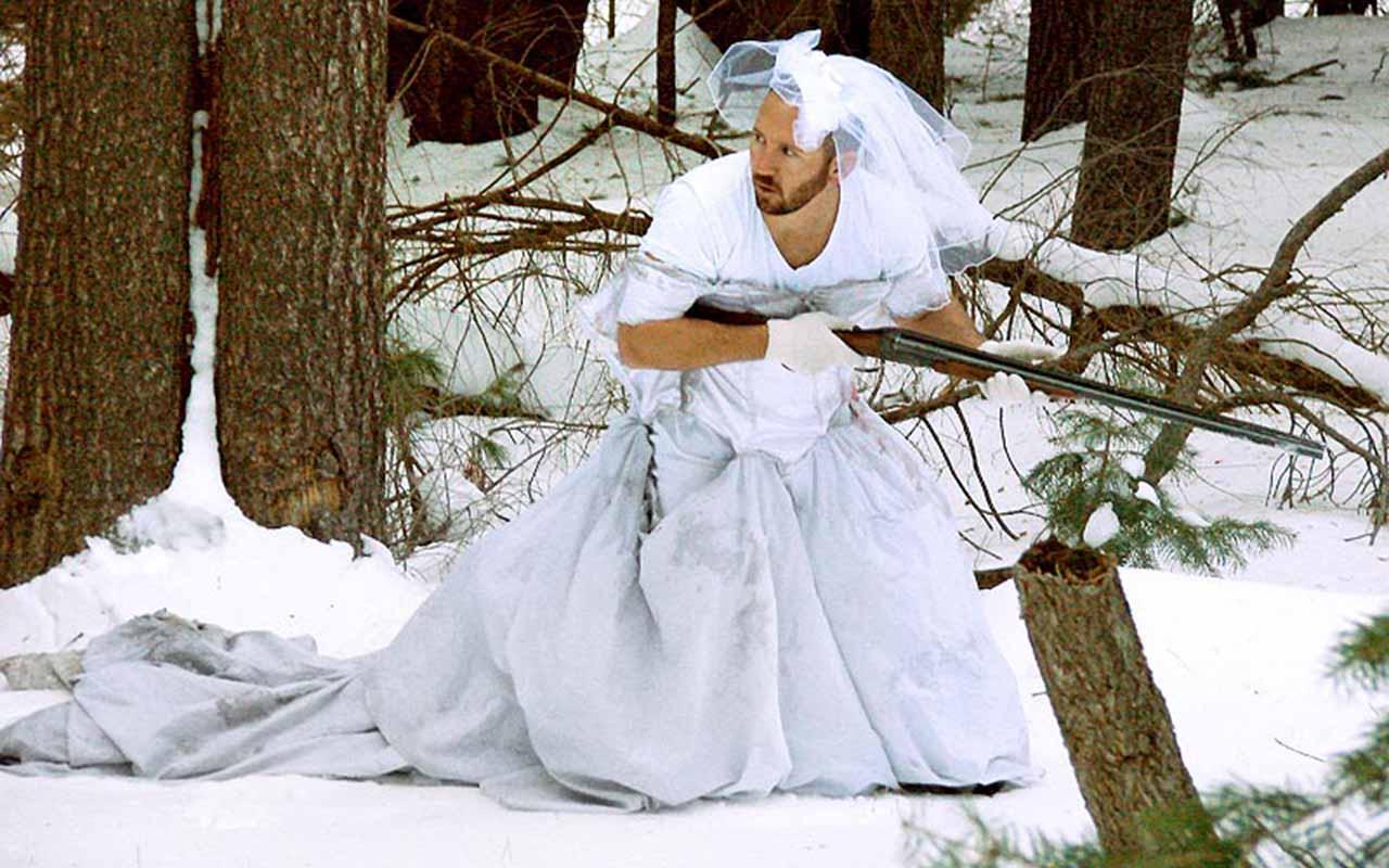 Man finds 101-ways to use ex-wife's wedding dress