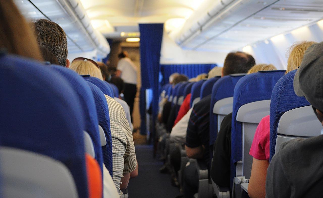 Using phone inside an aircraft
