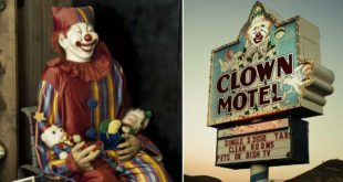 Clown Motel, Graveyard, Tonopah, Nevada, United States, USA