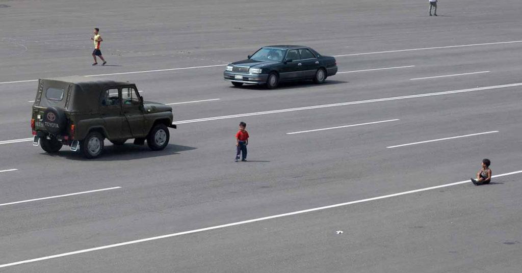 North Korea, Pyongyang, Photography