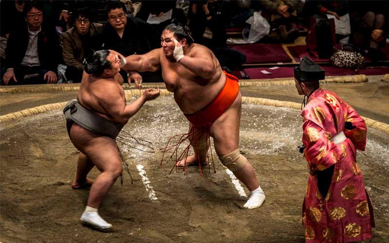 Sum wrestlers, Japan