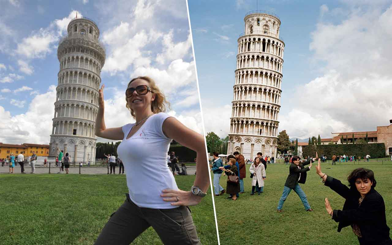 The Leaning Tower Of Pisa, Italy, France