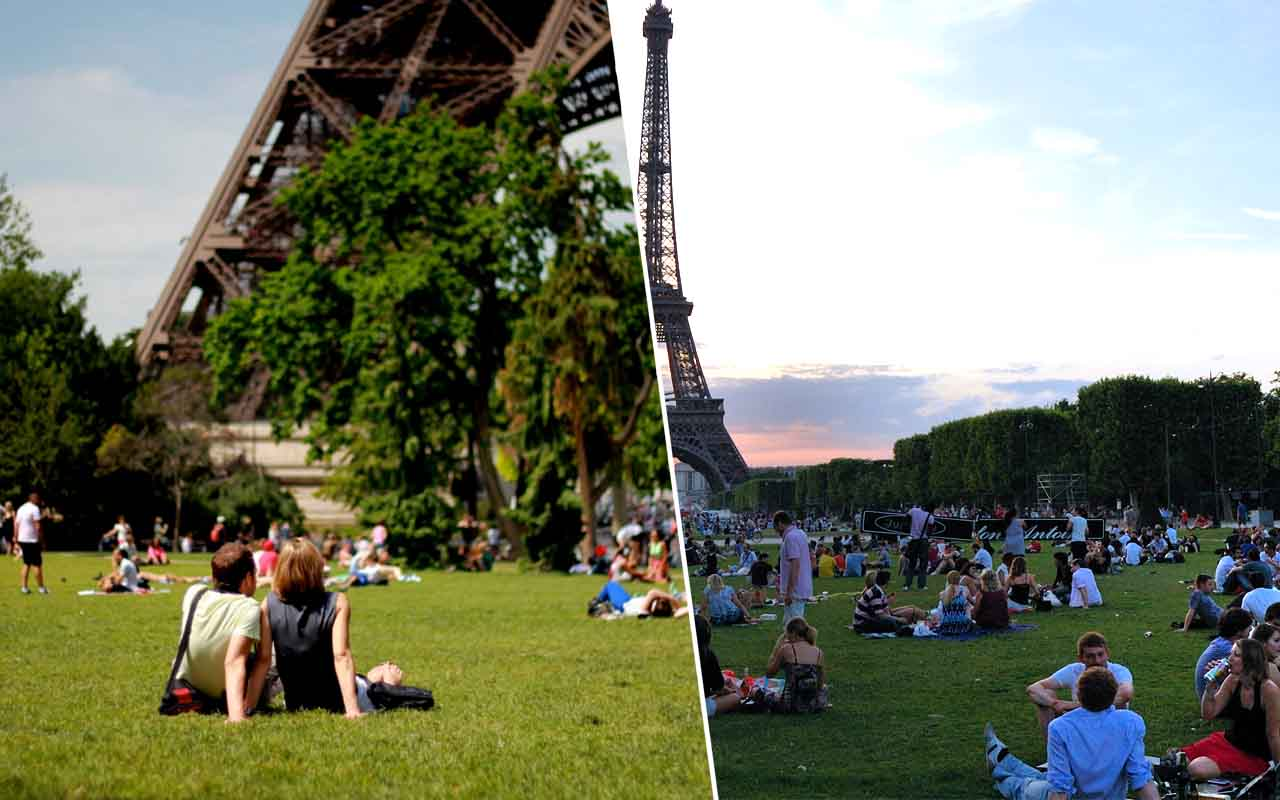 Picnic under the Eiffel Tower, Date night, Friday