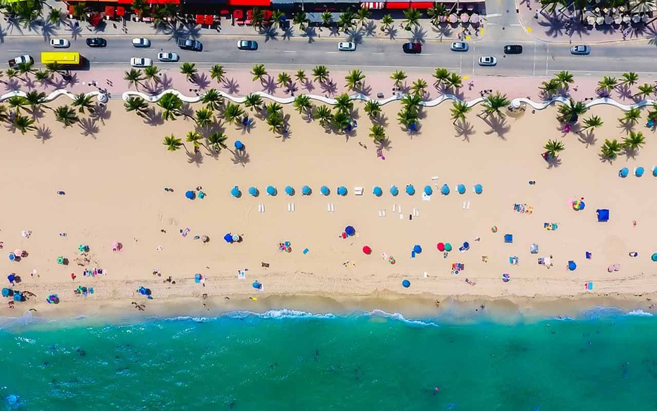 Fort Lauderdale, Florida, ocean, beach