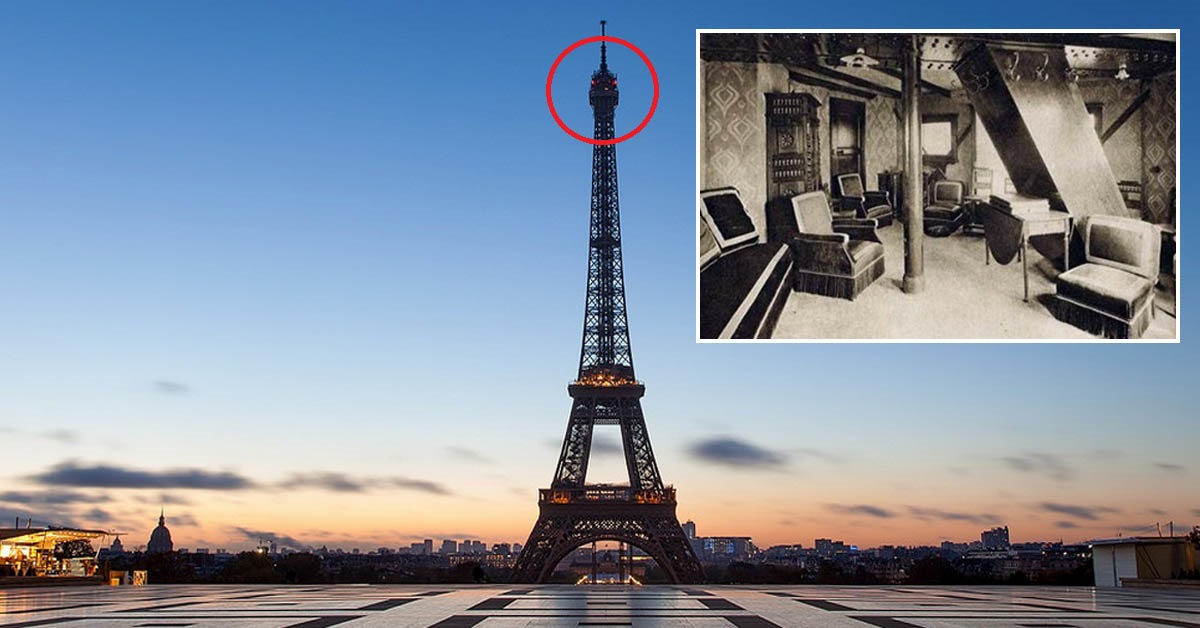 The Eiffel Tower Has A Secret Apartment At Top But You Can T Stay In It