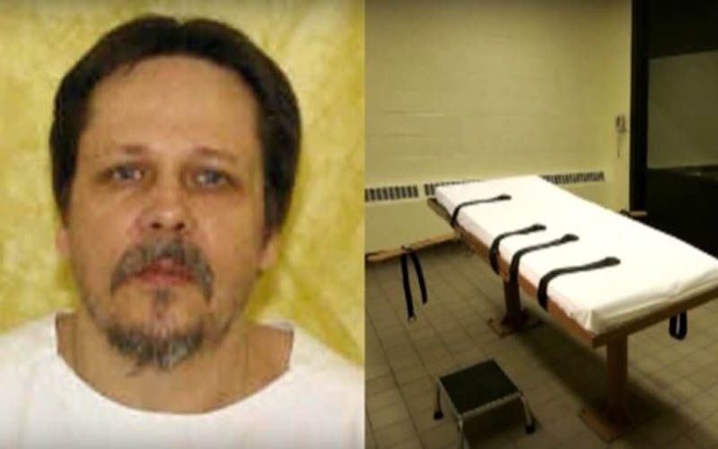 Dennis McGuire, executed January 16, 2014 in Ohio.