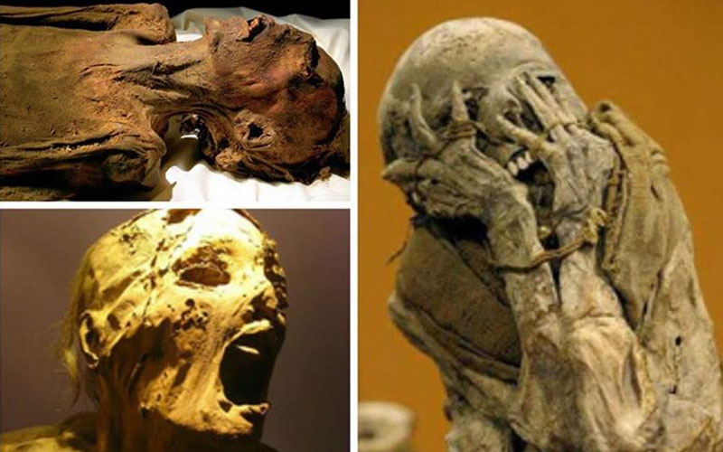 The screaming mummy, unsolved, mystery, archaeology