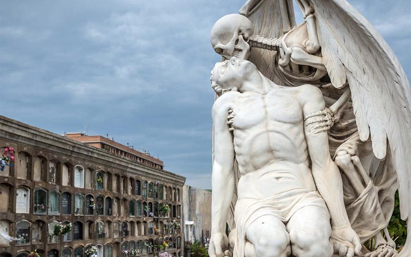 Poblenau Cemetery (Barcelona, Spain)