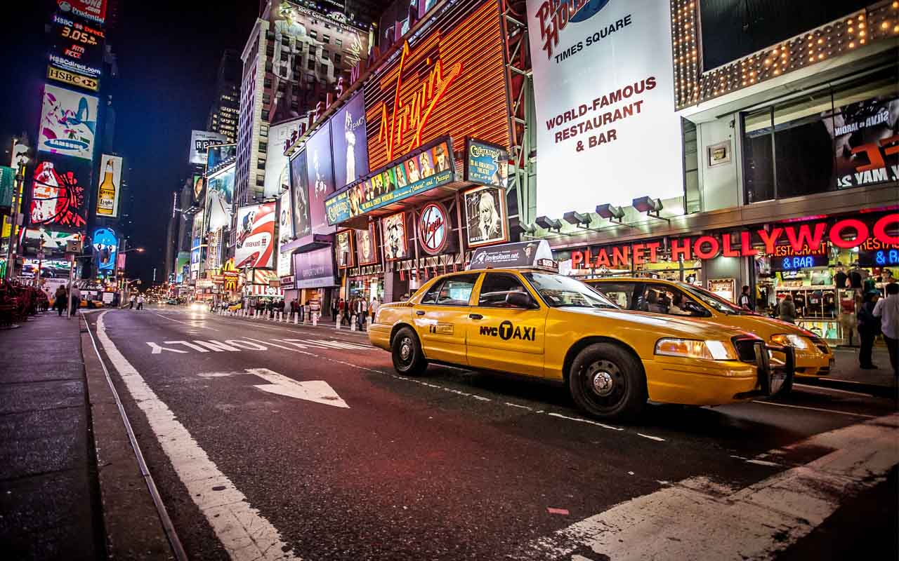 New York Taxi, Cab, Yellow cab, for hire, scam, travel, wander, traveling, travelers, wanderlust