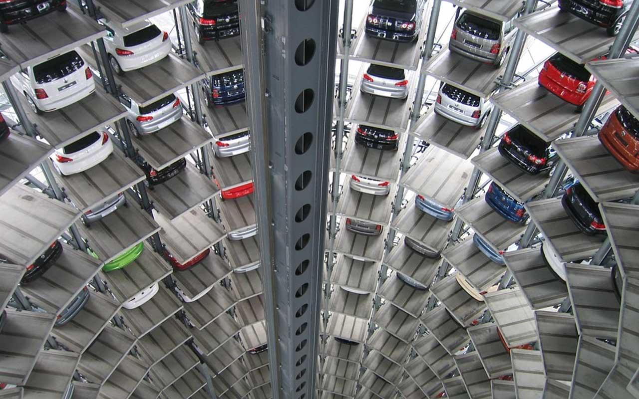 Bold Lane Car Park, Derby, UK