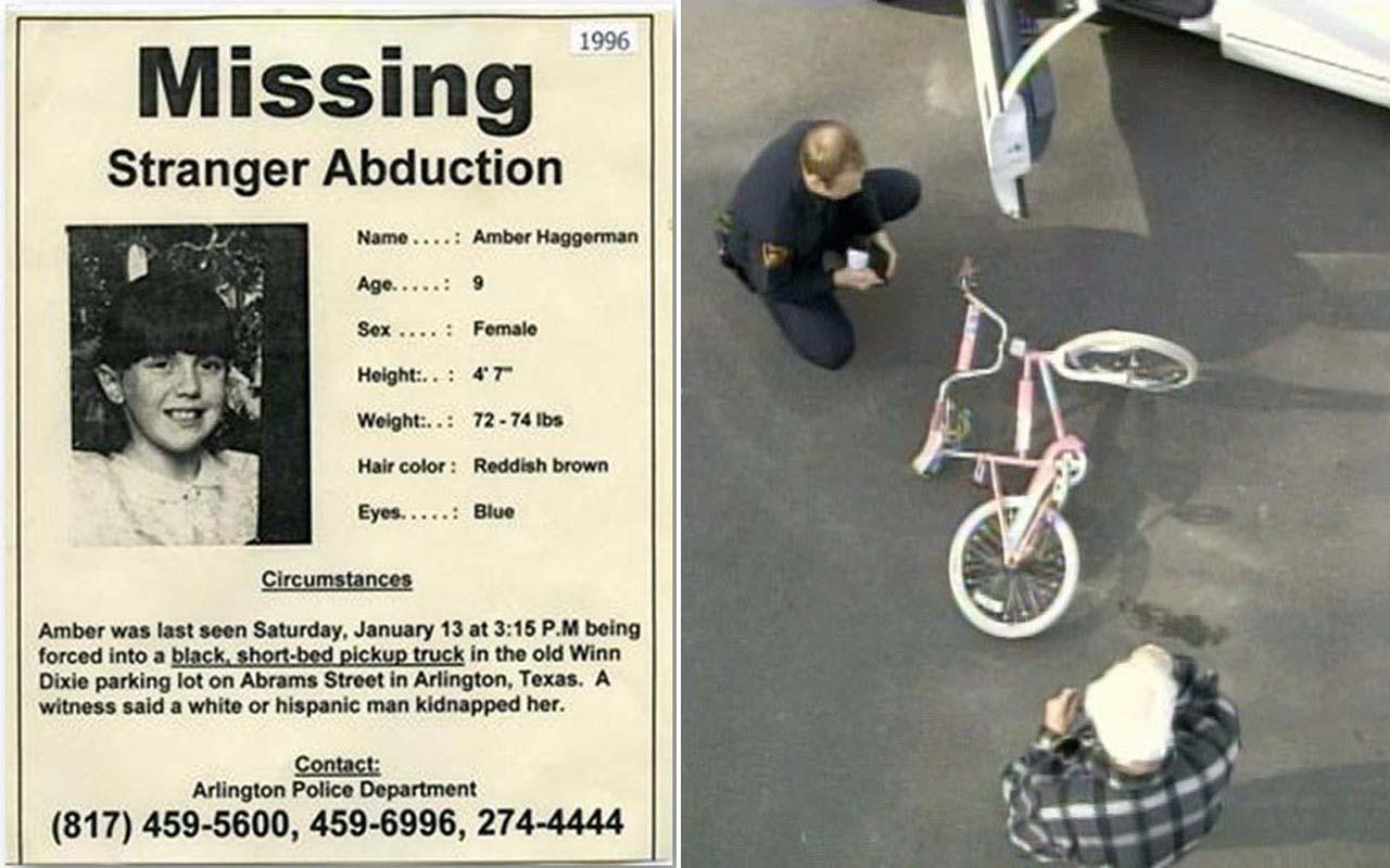 Amber alert, missing notice, girl, sad story