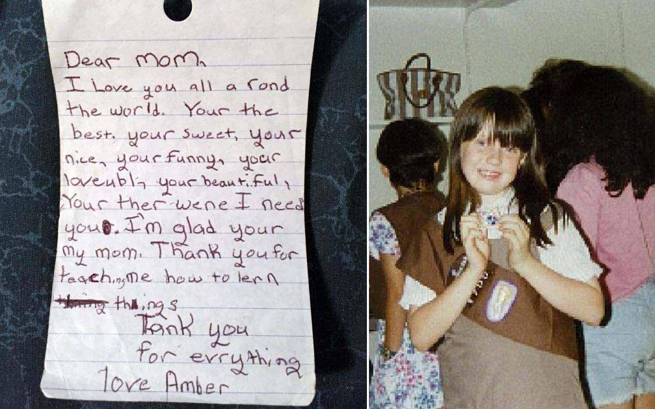 Amber Alert, Lovely note, mom, daughter, sad