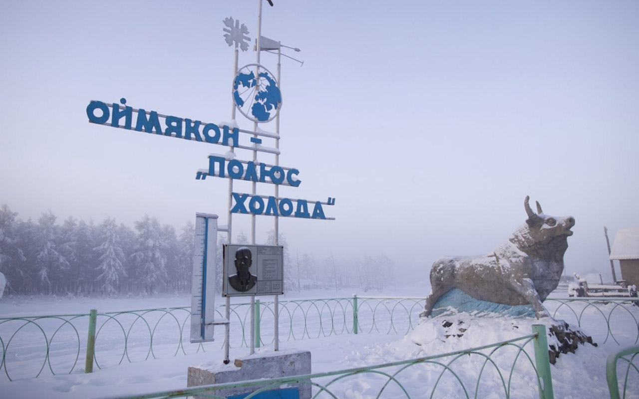 Oymyakon, cold, coldest, Russia, fact, facts