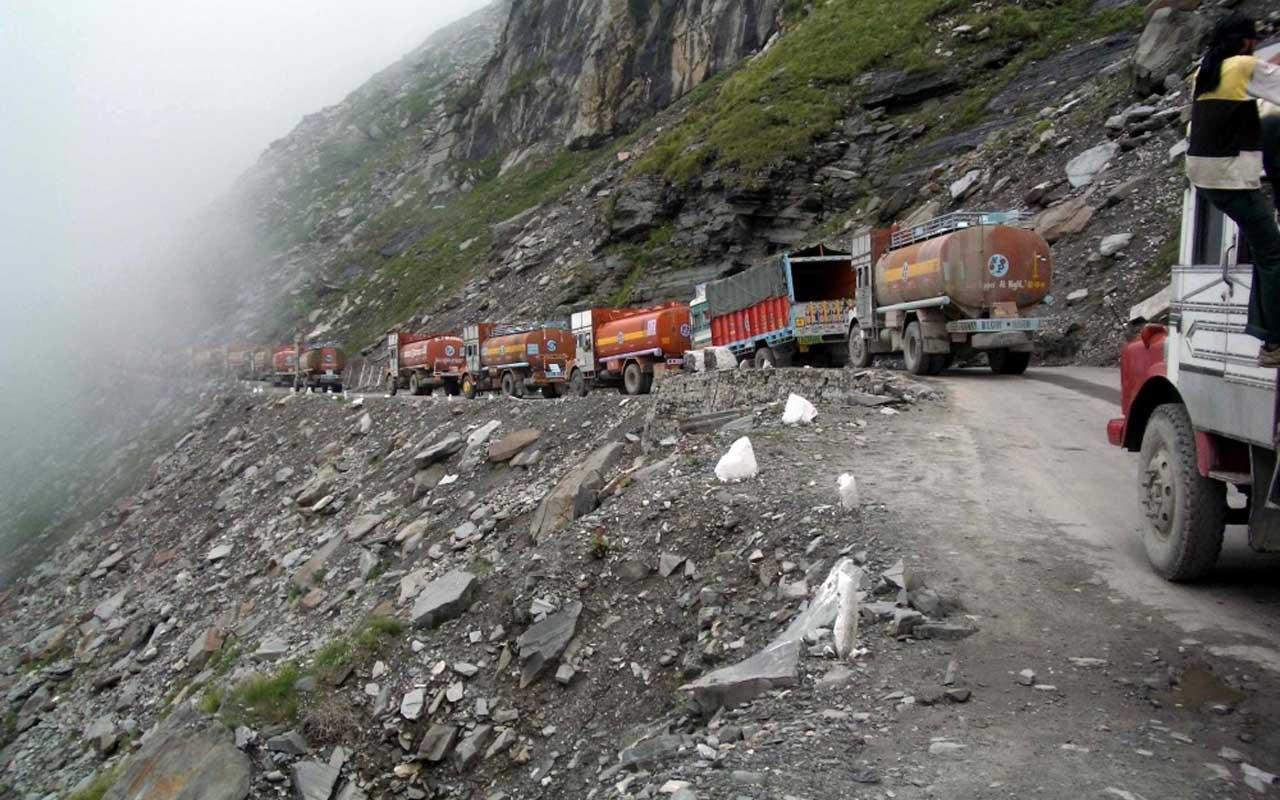 Leh-Manali Highway, India