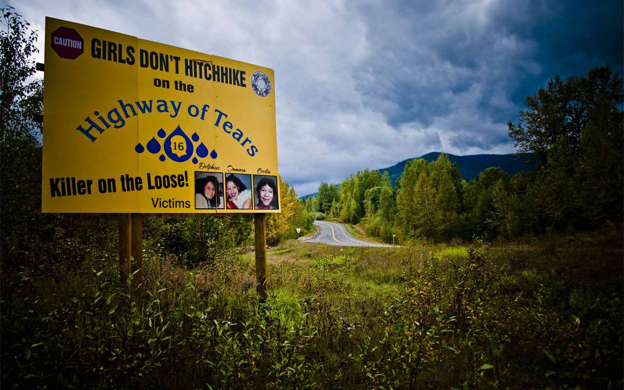 Highway 16, Highway of Tears, Kidnapping, disappearance, disappearing, scary, women, teenagers, teens, tweens, sad, story