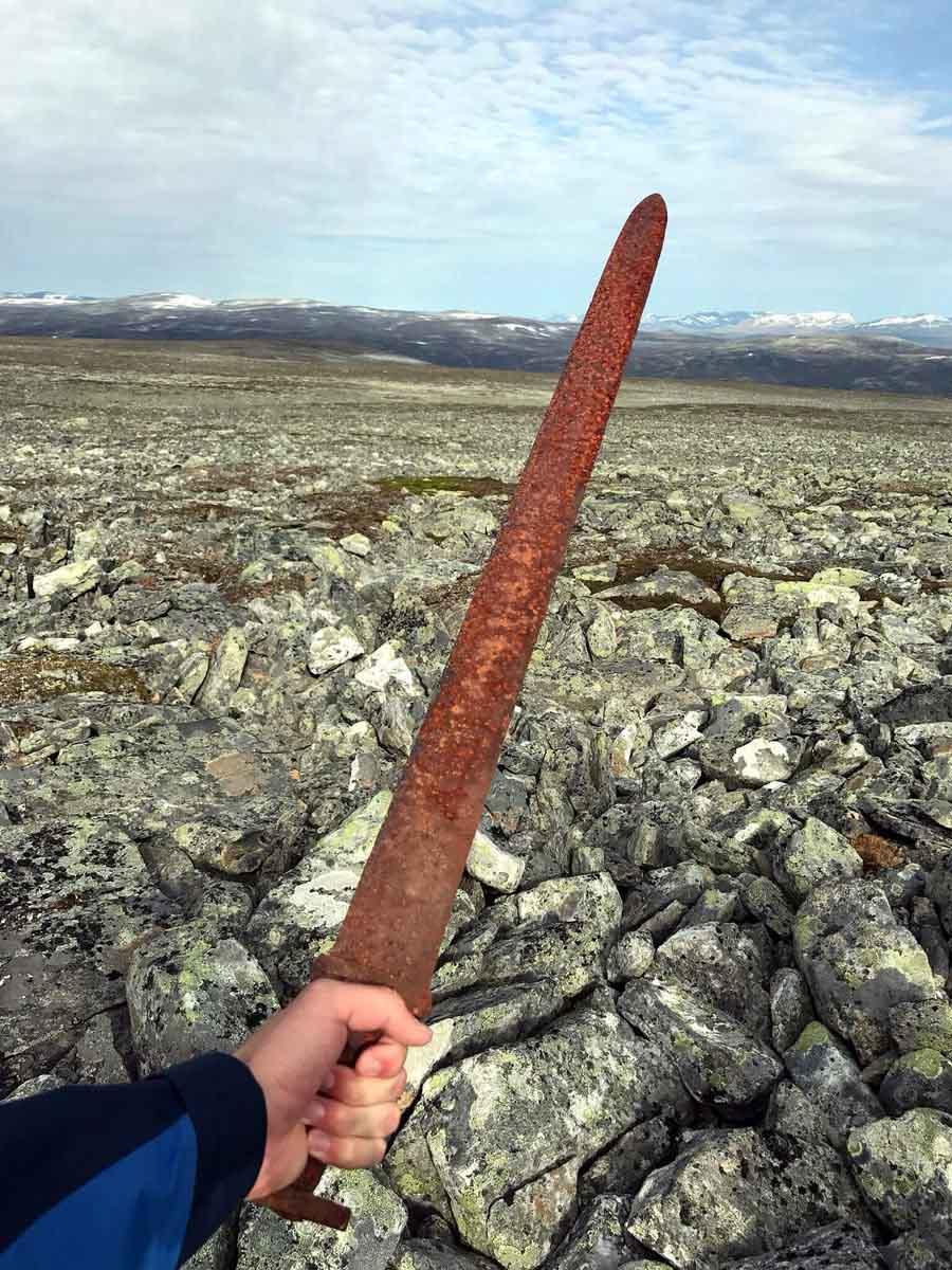 Norway, Norwegian, Viking, Vikings, Reindeer hunter, sword, fact, facts