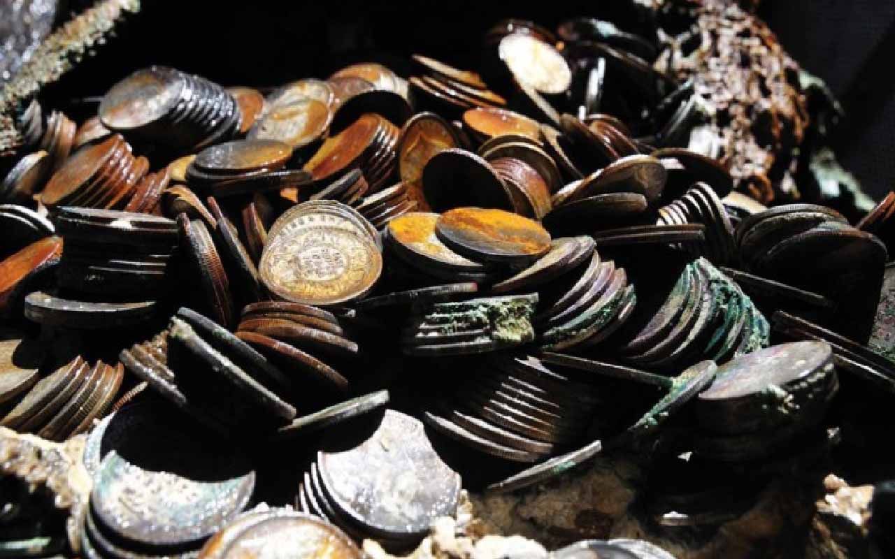 Millions of dollars in World War II silver recovered from deep ocean