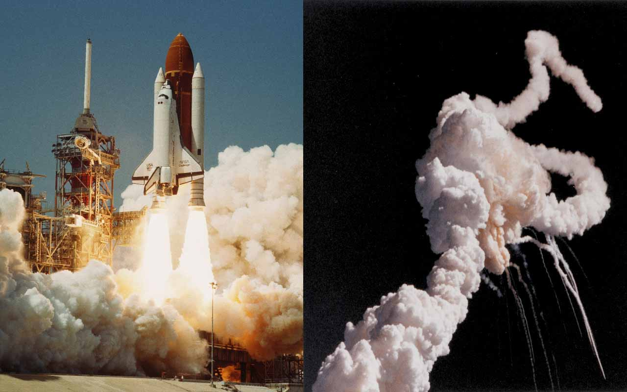Space Shuttle Challenger Disaster, NASA, explosion, people, crew members