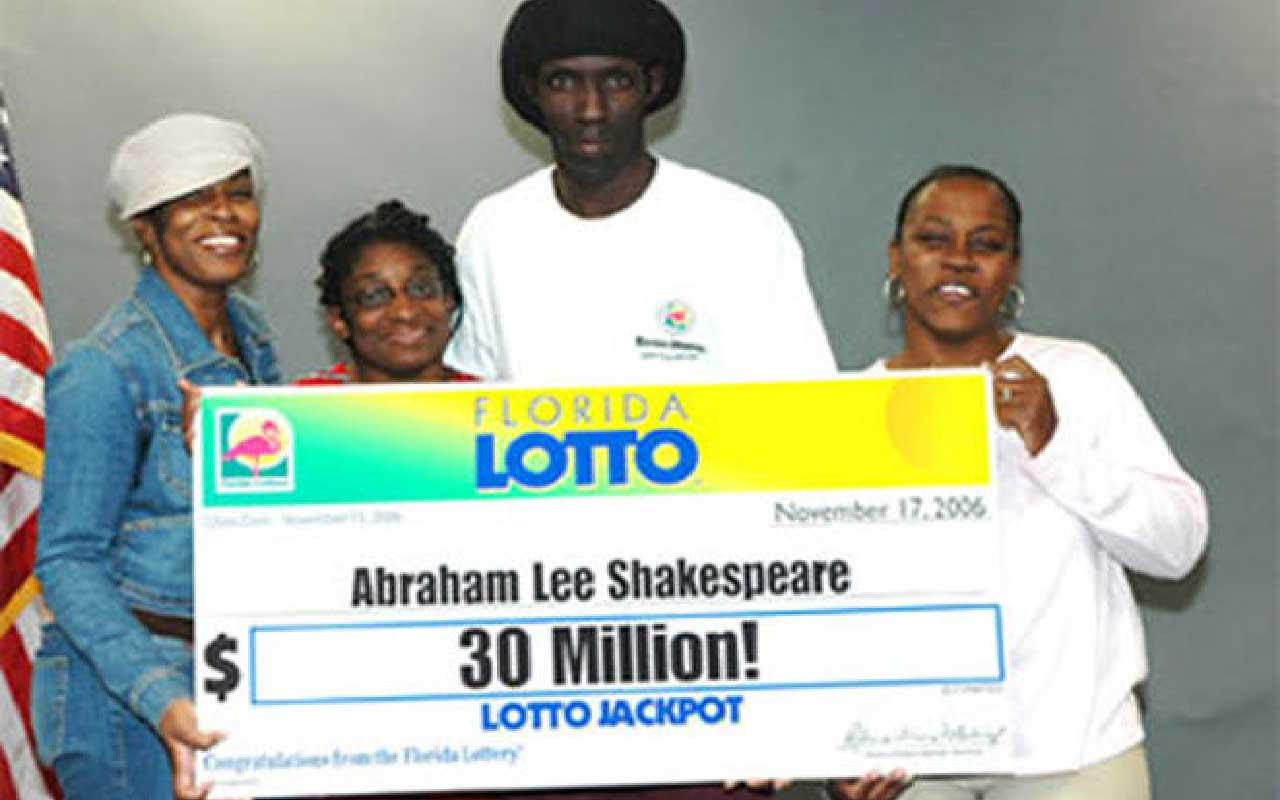 Abraham Shakespeare: $30 million, man, woman, murder, story