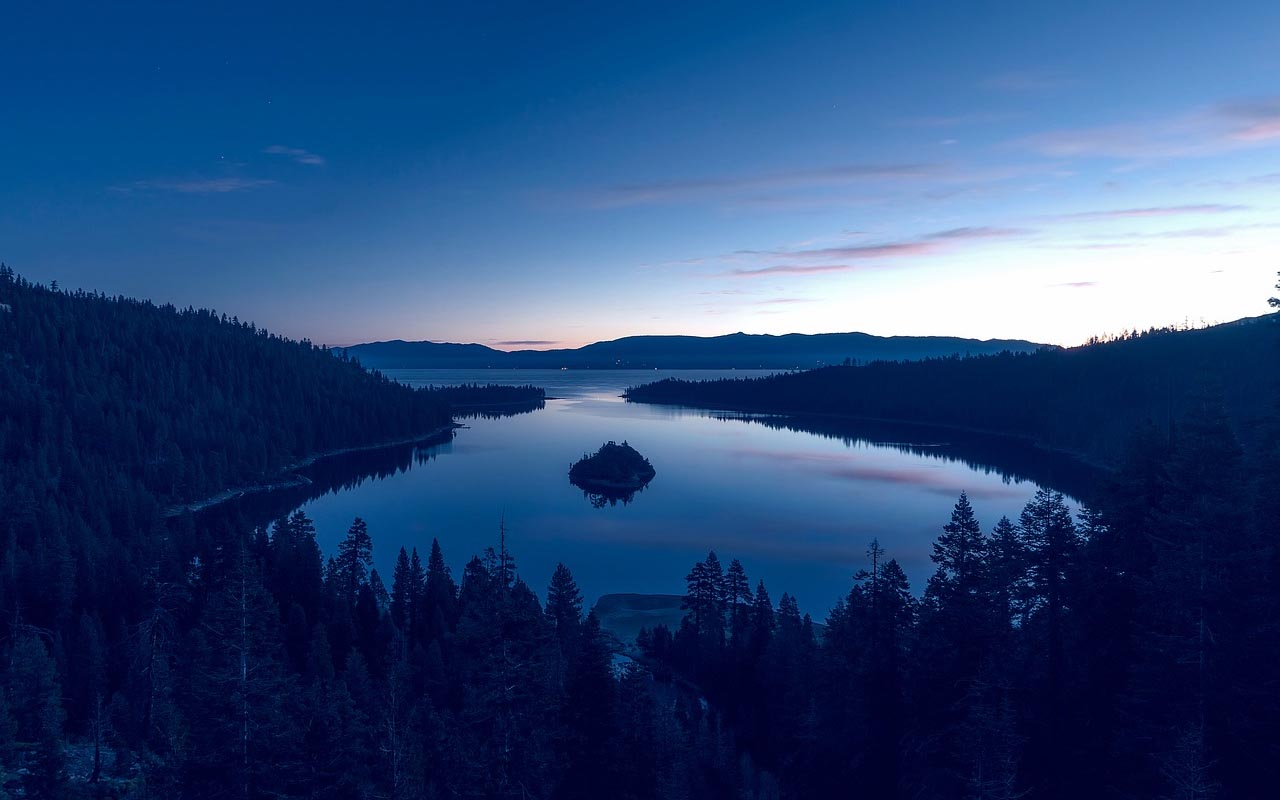 Lake Tahoe is the final resting place for many people who have drowned in it but were never found.