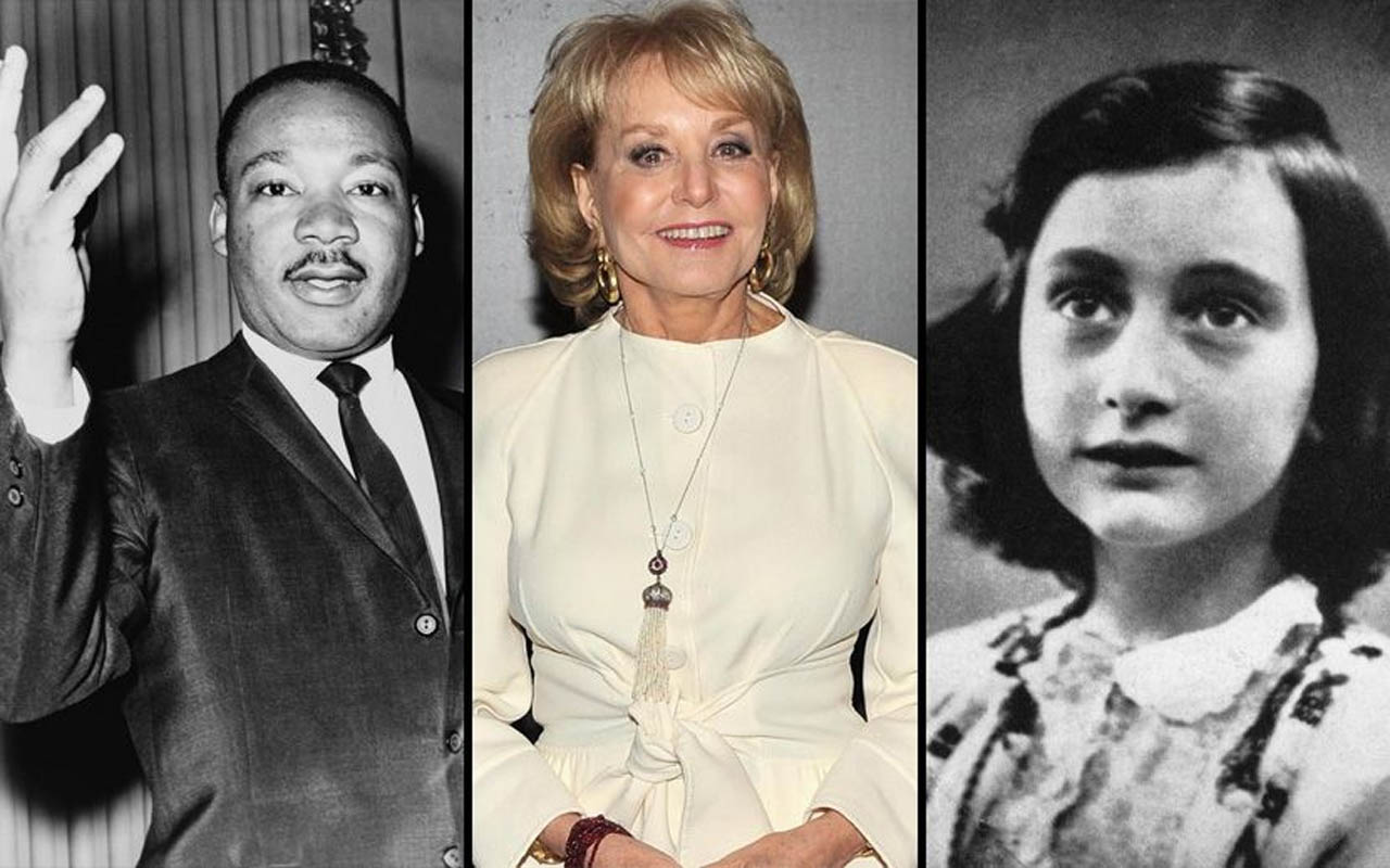 Barbara Walters, Anne Frank, and Martin Luther King Jr. were all born in the year 1929.