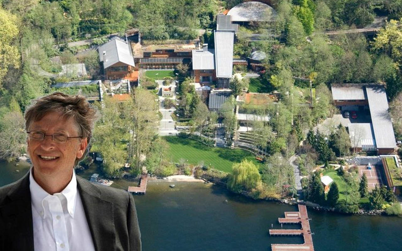 Bill Gates Home, houses, richest people on Earth