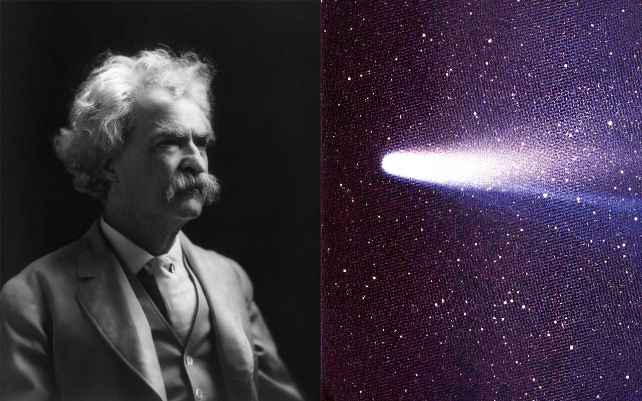 Mark Twain, Halleys comet