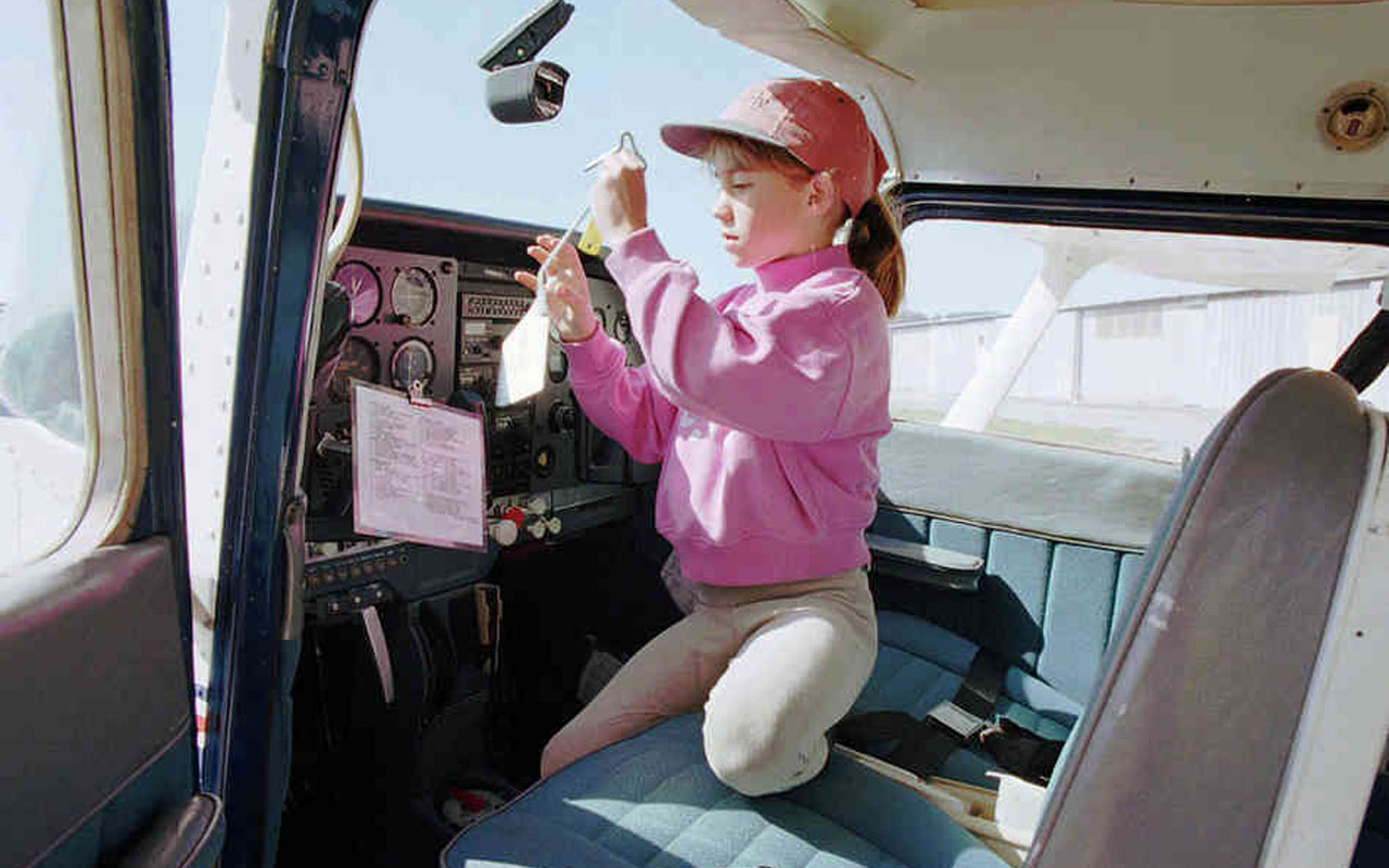 Seven-year-old Jessica Dubroff died in 1996 while attempting to become the youngest person to fly across the United States.