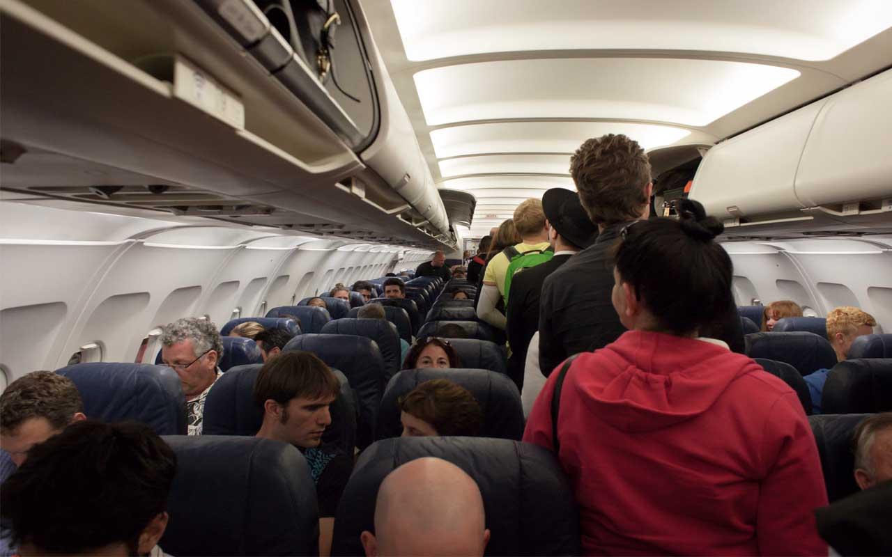 If you are an able bodied person, crew members, passengers, flight attendants, flying, plane