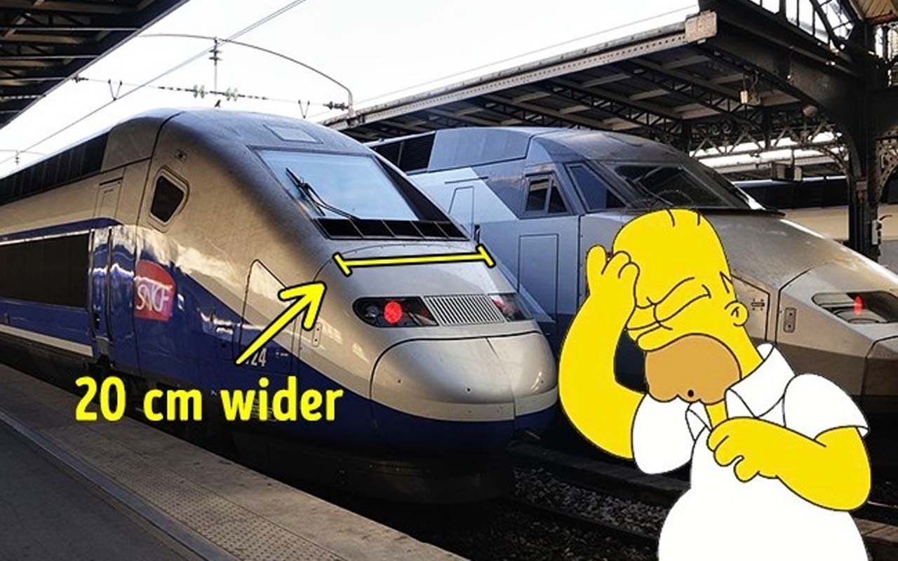 France's fat trains, wide, wider,