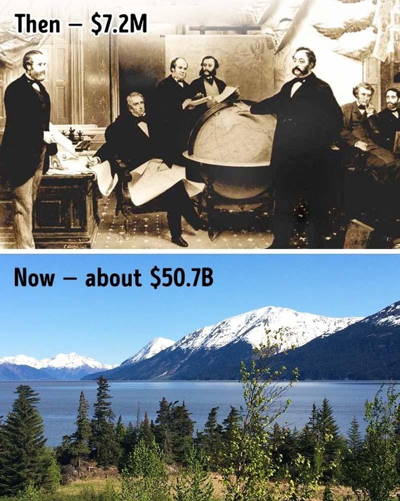 Russia sold Alaska