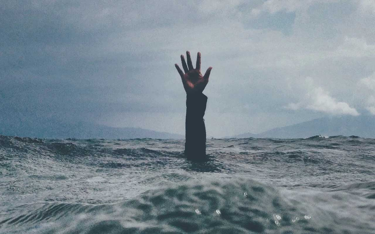 You are swimming in an ocean filled with stress hormones.