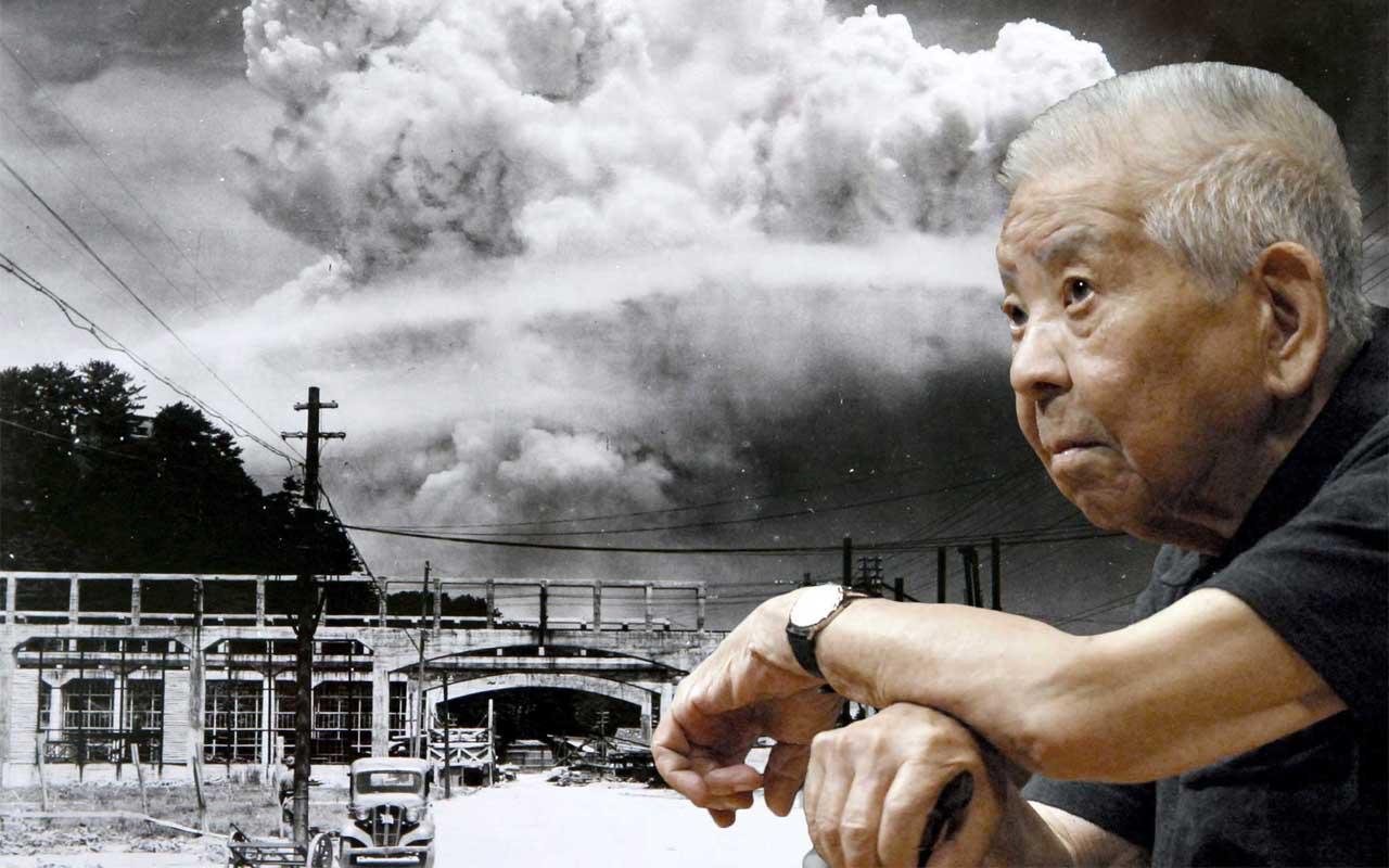 Tsutomu Yamaguchi, Hiroshima, Nagasaki