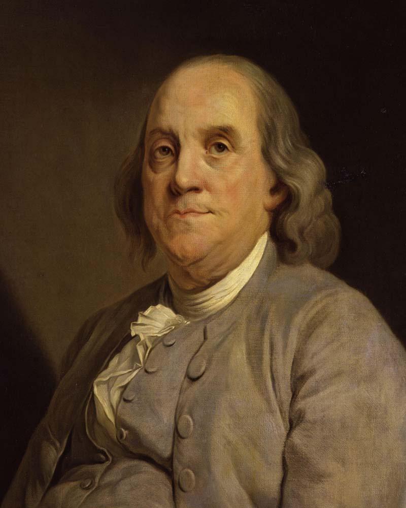 Conservationists discoveredbodies in Ben Franklin's basement.
