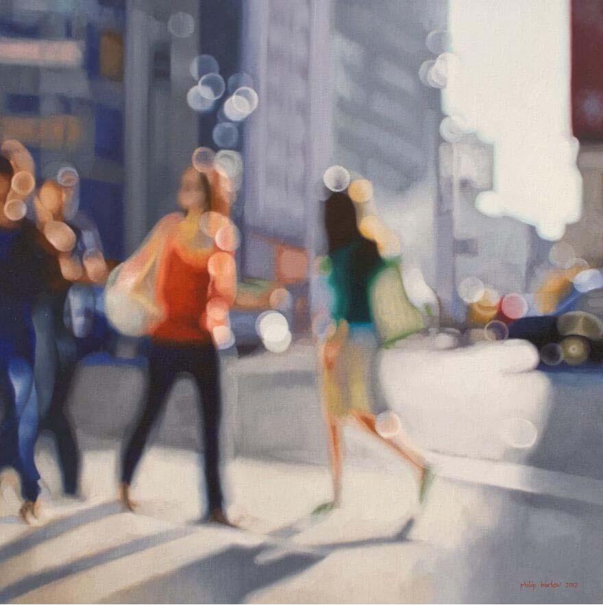 Philip Barlow, city life, New York, lifestyle, women, fashion