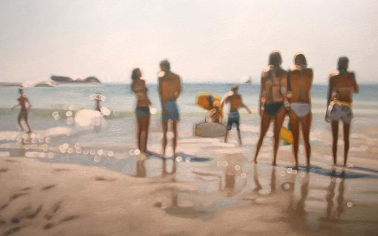 women, bikini, fun, happy, freedom, water, sea, lake, waves, sand, shore, planet, Earth