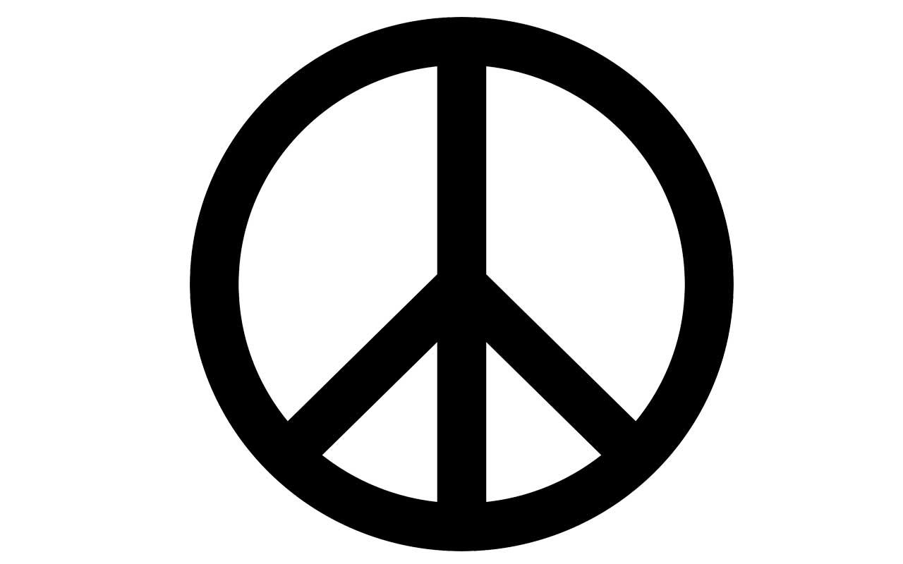 Peace sign, symbol, logo, fact, facts