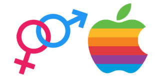 apple logo, male, female, symbols, fact, facts, instagram, life, companies