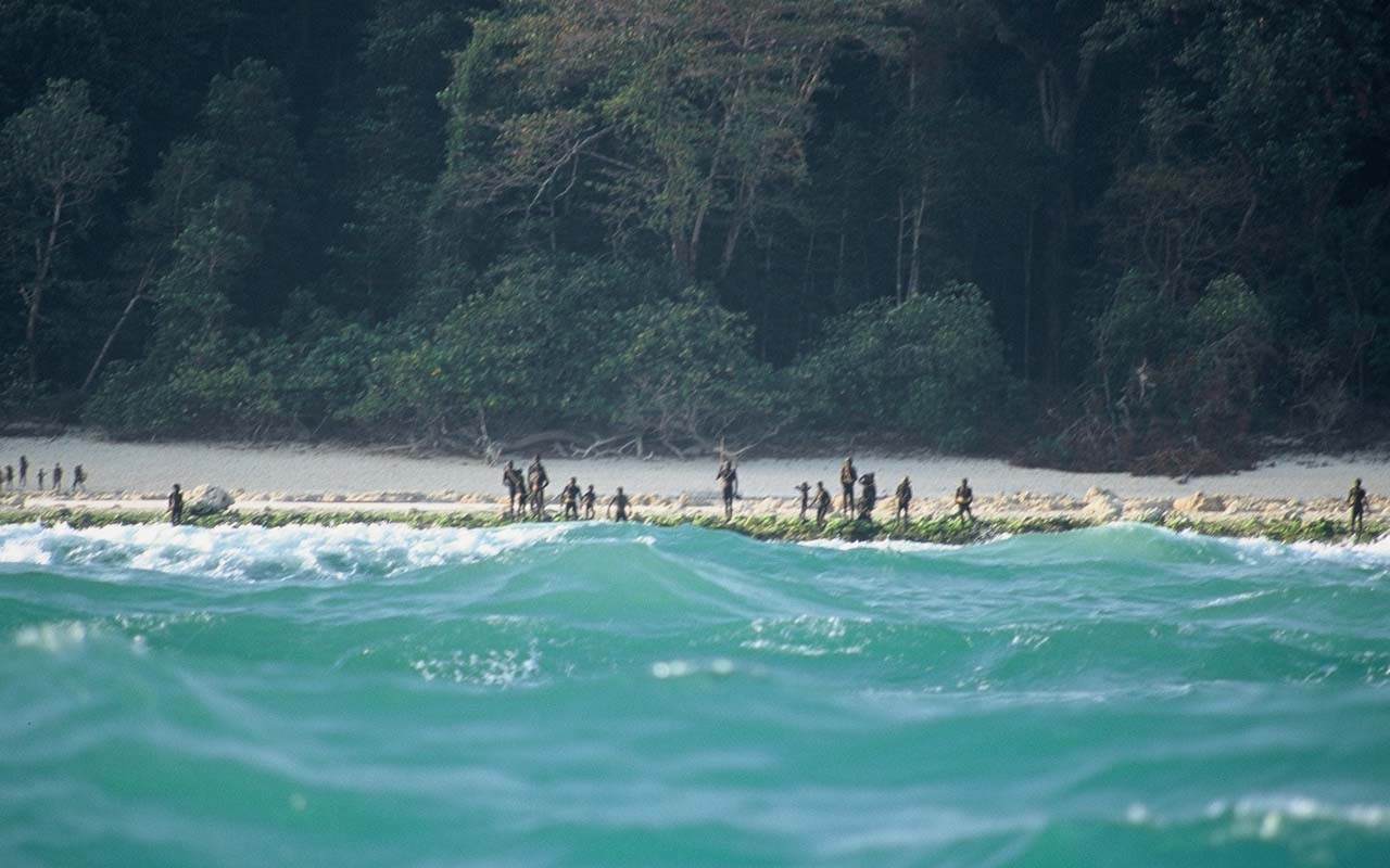 Sentinelese tribe, ocean, Indian,